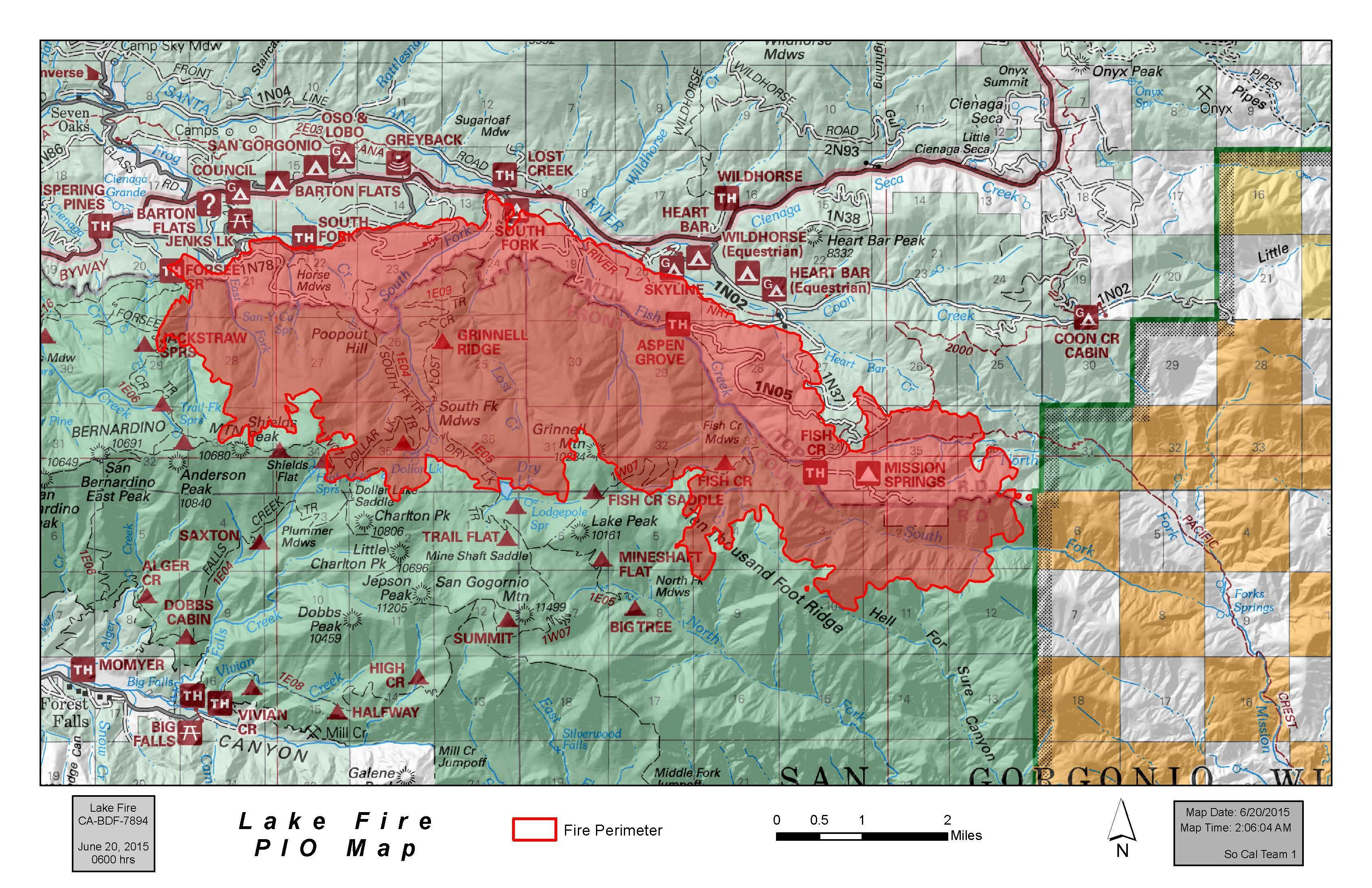 Big Bear Lake Fire Map.Socalmountains Com Forums Fire Discussion Lake Fire Big Bear